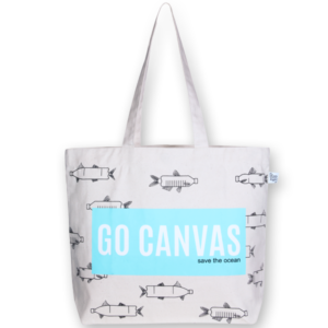 Canvas Large Tote Bag, Go Canvas - Natural
