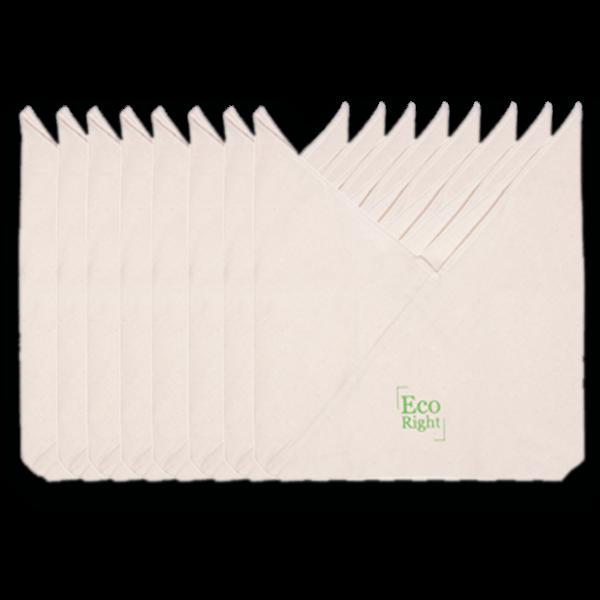 Cotton Bento Bag - Natural (pack of 8)