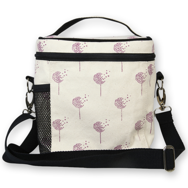 EcoRight Canvas Lunch Bag, Dandelions - Natural