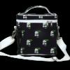 EcoRight Canvas Lunch Bag, Pandas - Blue