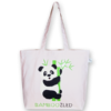 Canvas large tote Bag Bamboozled Natural-EcoRight