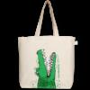 Canvas large tote Bag Crocs Natural-EcoRight