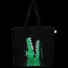 EcoRight Canvas Large Tote Bag, Crocs - Black