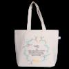Canvas large tote Bag Cynefin Natural-EcoRight