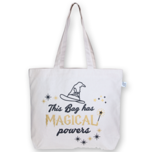 Canvas large tote Bag Magical Natural-EcoRight