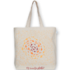 Canvas large tote Bag No room for plastic Natural-EcoRight