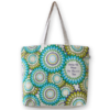 Canvas Large Tote Bag, Floral - Natural EcoRight