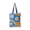EcoRight EcoRight Canvas Zipper Tote Bag, Floral - Natural
