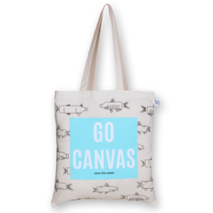Cotton Tote Bag Go canvas Natural-EcoRight