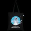 Cotton Tote Bag Seal Black-EcoRight