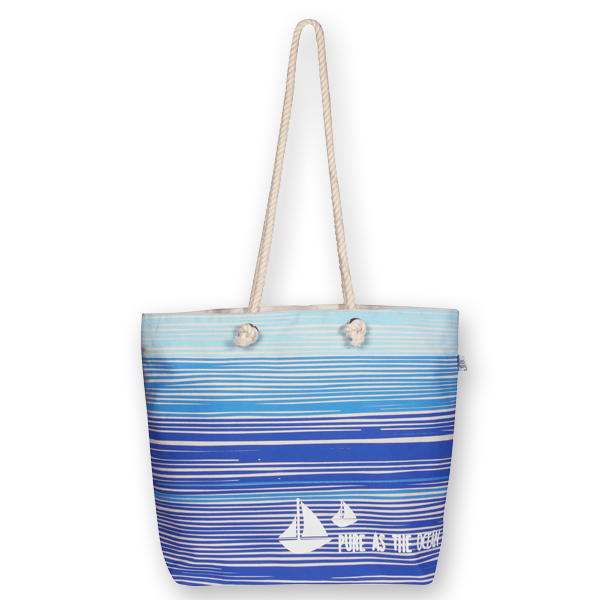 EcoRight Beach Tote Bag – Pure as a Ocean
