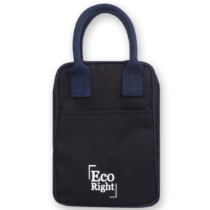 EcoRight Canvas Lunch Bag Blue