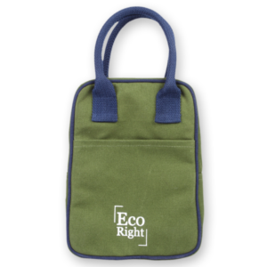EcoRight Canvas Lunch Bag Dark Green