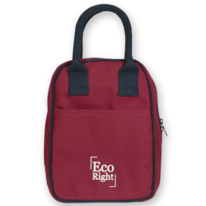 EcoRight Canvas Lunch Bag Maroon