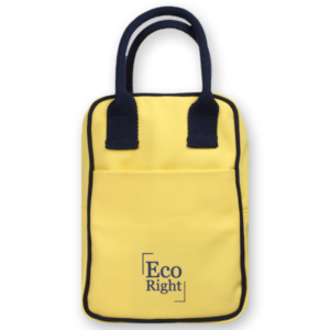 EcoRight Canvas Lunch Bag Yellow