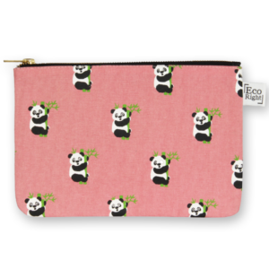 EcoRight Cosmetic Travel Pouch - Pandas