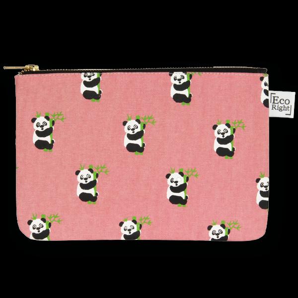 EcoRight Cosmetic Travel Pouch - Pandas