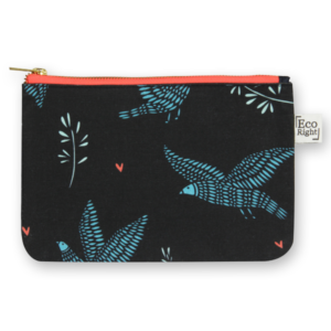 EcoRight Cosmetic Travel Pouch - Sparrows