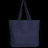 Juton Zipper tote bag blue EcoRight