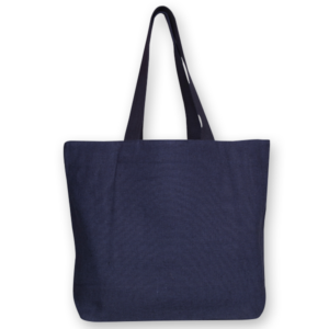 Juton Zipper tote bag blue EcoRight