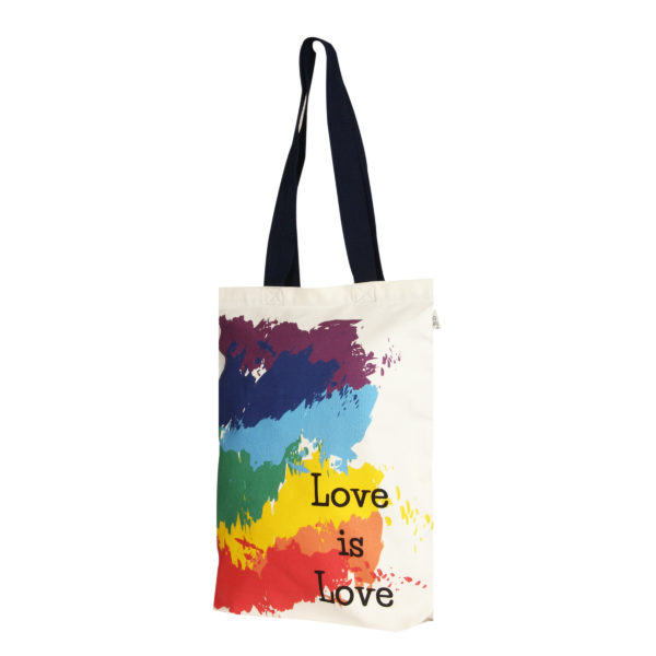 Canvas-premium-zipper-tote-bag-love-is-love-Natural