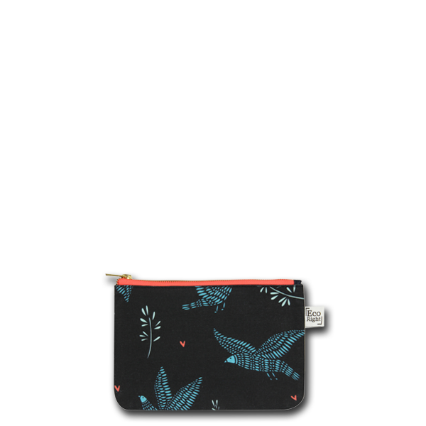 Canvas Cosmetic Pouch -Ecorightbags