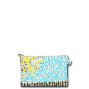 Canvas cosmetic pouch- Countryside-Ecorightbags (1)