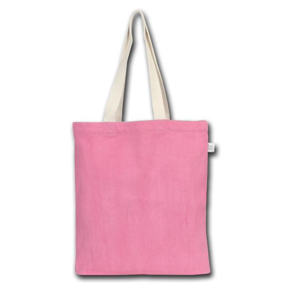 7263b1c96f Recycled Cotton Tote Bag - Pink
