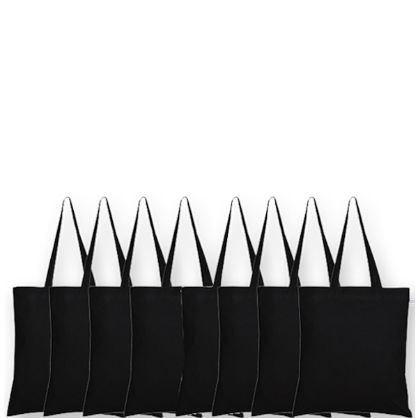 Canvas-tote-bags-Plain-black-Pack-of-8 4-EcoRight