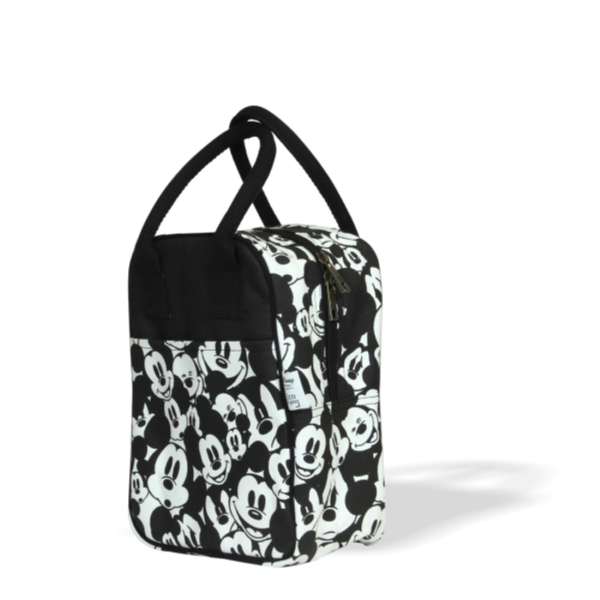 Mickey faces lunch tote bags