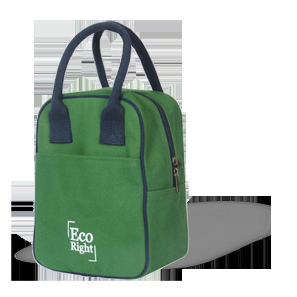 green lunch bag 1v5