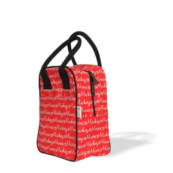mickey editorial lunch tote bag
