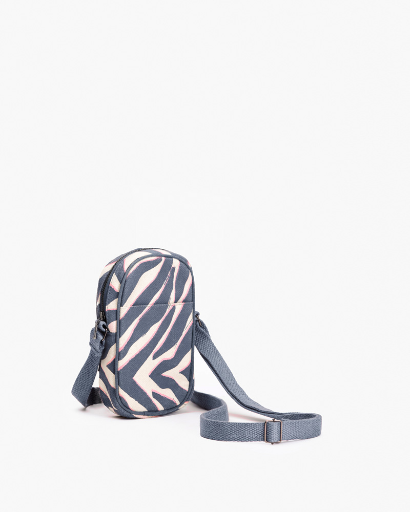 Tiger Stripes Mobile Pouch With Sling For Girls Online